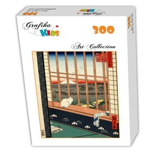 "Grafika Kids (00269) - Utagawa (Ando) Hiroshige: ""Utagawa Hiroshige"" - 300 piezas"