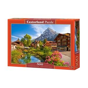 "Castorland (B-52363) - ""Kandersteg, Switzerland"" - 500 piezas"