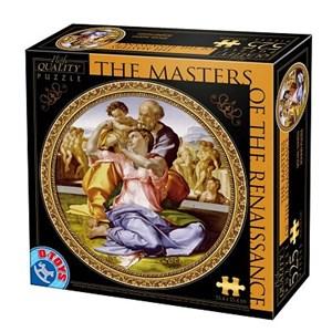 "D-Toys (66985-TM04) - Michelangelo: ""Doni Tondo"" - 525 piezas"