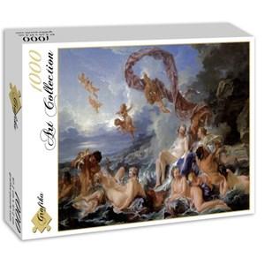 """Grafika (00192) - François Boucher: """"Le Triomphe de Vénus, 1740"""" - 1000 piezas"""