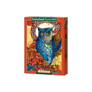 """Castorland (C-151110) - David Galchutt: """"Owl, Hoot"""" - 1500 piezas"""