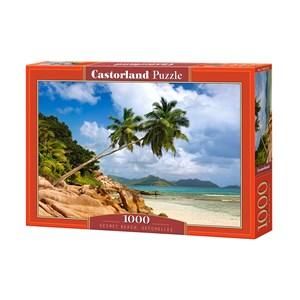 "Castorland (C-103713) - ""Secret Beach, Seychelles"" - 1000 piezas"