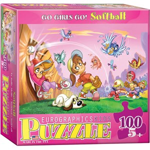 """Eurographics (6100-0416) - """"Softball"""" - 100 piezas"""