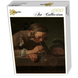 "Grafika (01123) - Jean-Baptiste-Siméon Chardin: ""Soap Bubbles, 1739"" - 1000 piezas"