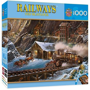 "MasterPieces (71655) - Ted Blaylock: ""When Gold Ran the Rails"" - 1000 piezas"
