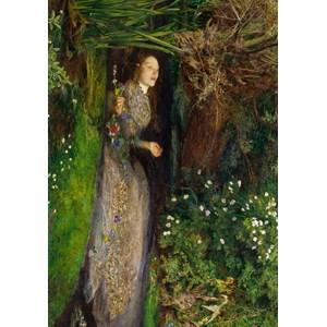 """Grafika (00362) - John Everett Millais: """"Ophelia, 1851"""" - 1000 piezas"""