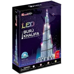 """Cubic Fun (L133H) - """"Burj Khalifa, Dubai"""" - 136 piezas"""