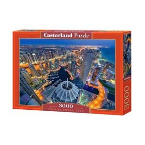 "Castorland (C-300457) - ""Towering Dreams, Dubai"" - 3000 piezas"