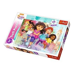 "Trefl (14242) - ""Dora"" - 24 piezas"