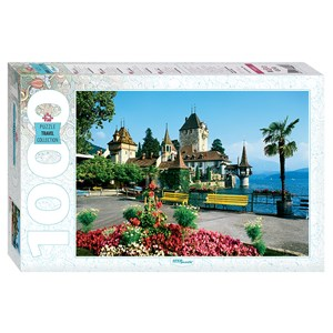"Step Puzzle (79080) - ""Oberhofen, Switzerland"" - 1000 piezas"