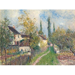 "Grafika (00183) - Alfred Sisley: ""Un Sentier aux Sablons"" - 2000 piezas"