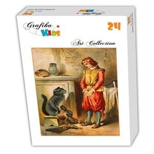 "Grafika (00108) - Carl Offterdinger: ""Puss in Boots"" - 24 piezas"
