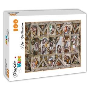 "Grafika Kids (00077) - Michelangelo: ""Sistine Chapel"" - 100 piezas"