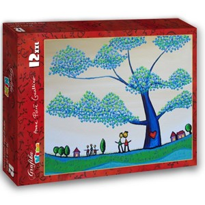 "Grafika Kids (01793) - Anne Poire, Patrick Guallino: ""Feuilles Protectrices"" - 12 piezas"