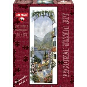"""Art Puzzle (4335) - Peter Motz: """"Lago Maggiore"""" - 1000 piezas"""