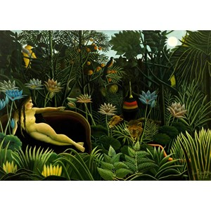 "Grafika Kids (00305) - Henri Rousseau: ""The Dream, 1910"" - 24 piezas"