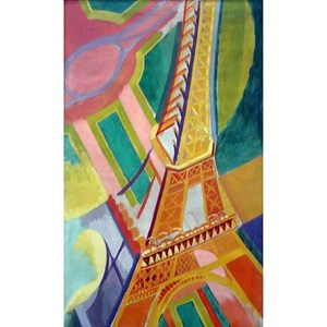 "Puzzle Michele Wilson (A276-150) - Robert Delaunay: ""Eiffel Tower"" - 150 piezas"