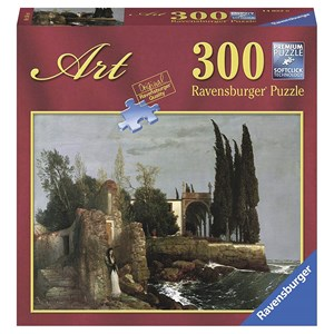 "Ravensburger (14022) - Arnold Böcklin: ""Ruins by the Sea"" - 300 piezas"