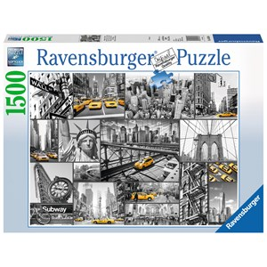 "Ravensburger (16354) - ""New York"" - 1500 piezas"