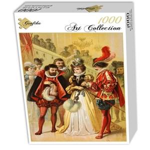 """Grafika (00735) - Carl Offterdinger: """"Cinderella, illustration"""" - 1000 piezas"""