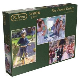 "Falcon (11058) - Steve Noon: ""The Proud Father"" - 500 piezas"