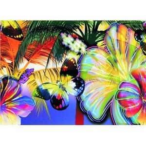 """Gold Puzzle (60041) - """"Butterflies"""" - 1000 piezas"""