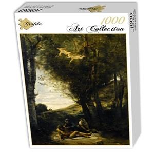 "Grafika (01943) - Jean-Baptiste-Camille Corot: ""Saint Sebastian Succored by the Holy Women, 1874"" - 1000 piezas"