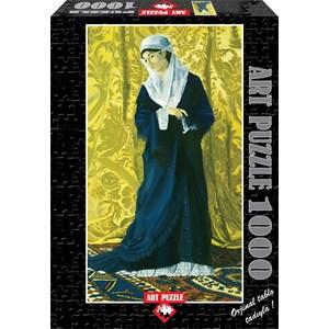 "Art Puzzle (81043) - Osman Hamdi Bey: ""Old Istanbul Lady"" - 1000 piezas"