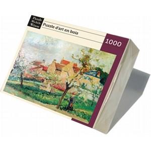 "Puzzle Michele Wilson (A984-1000) - Camille Pissarro: ""Plum Trees in Blossom"" - 1000 piezas"