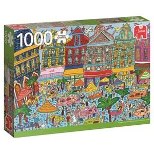 "Jumbo (18562) - ""Grand Place, Brüssel"" - 1000 piezas"