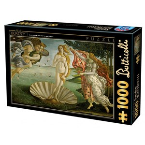 "D-Toys (72672-BO01) - Sandro Botticelli: ""The Birth of Venus"" - 1000 piezas"