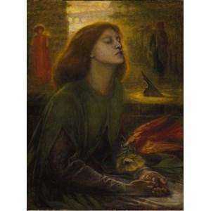 """Grafika (00225) - Dante Gabriel Rossetti: """"Beata Beatrix, 1872"""" - 2000 piezas"""