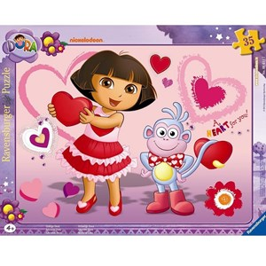 """Ravensburger (06611) - """"Adorable Dora"""" - 35 piezas"""