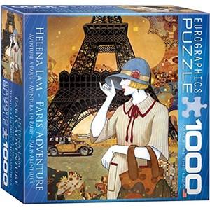 "Eurographics (8000-0517) - Helena Lam: ""Paris Adventure"" - 1000 piezas"