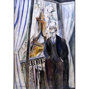 """Grafika (00316) - Robert Delaunay: """"Le Poète Philippe Soupault, 1922"""" - 1000 piezas"""