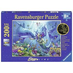 """Ravensburger (13678) - """"Luminous Underwater Paradise"""" - 200 piezas"""