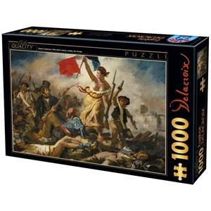 "D-Toys (73808) - Eugene Delacroix: ""Liberty Leading the People"" - 1000 piezas"