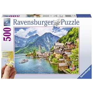 "Ravensburger (13687) - ""Hallstatt, Austria"" - 500 piezas"