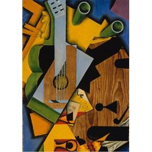 """Grafika (00293) - Juan Gris: """"Still Life with a Guitar, 1913"""" - 1000 piezas"""