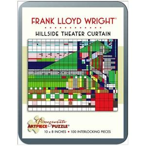 "Pomegranate (AA760) - Frank Lloyd Wright: ""Hillside Theater Curtain"" - 100 piezas"