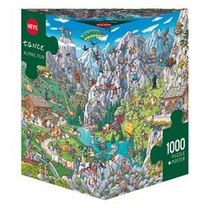 """Heye (29680) - Birgit Tanck: """"Alpine Fun"""" - 1000 piezas"""