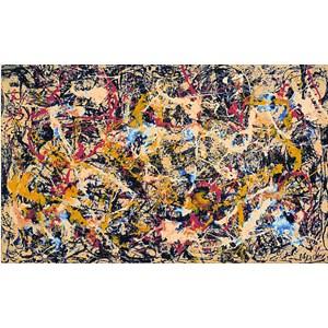 "Pomegranate (AA558) - Jackson Pollock: ""Convergence, 1952"" - 1000 piezas"