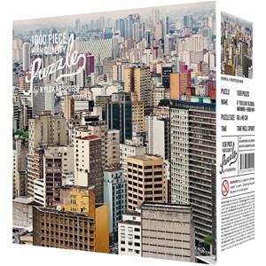 """Kylskåpspoesi (00501) - Jens Assur: """"Sao Paulo by Jens Assur"""" - 1000 piezas"""
