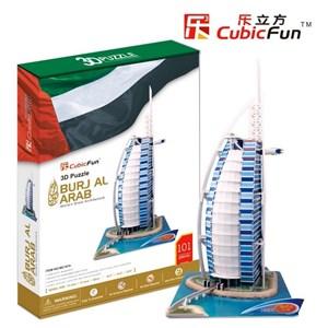"""Cubic Fun (MC101H) - """"Dubai, Burj Al Arab"""" - 101 piezas"""