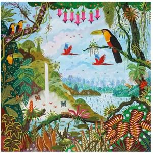 "Puzzle Michele Wilson (Z88) - Alain Thomas: ""Eden Garden"" - 30 piezas"