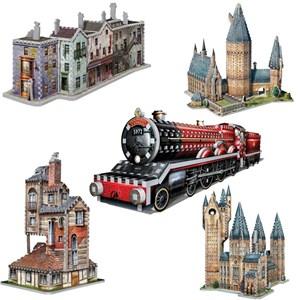 "Wrebbit (Wrebbit-Set-Harry-Potter-3) - ""Harry Potter Set"" - 3050 piezas"