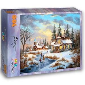 "Grafika Kids (01905) - Dennis Lewan: ""A Mid-Winter's Eve"" - 300 piezas"