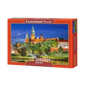 "Castorland (C-103027) - ""Poland, Krakow: Wawel Castle at Night"" - 1000 piezas"