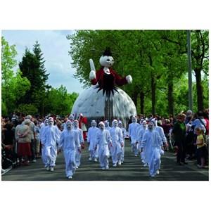 "PuzzelMan (372) - ""Belgium, Ypres, Procession of Cats"" - 99 piezas"