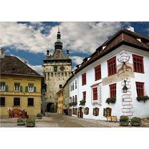 "D-Toys (65995-DE02) - ""Schasburg, Sighisoara, Romania"" - 1000 piezas"